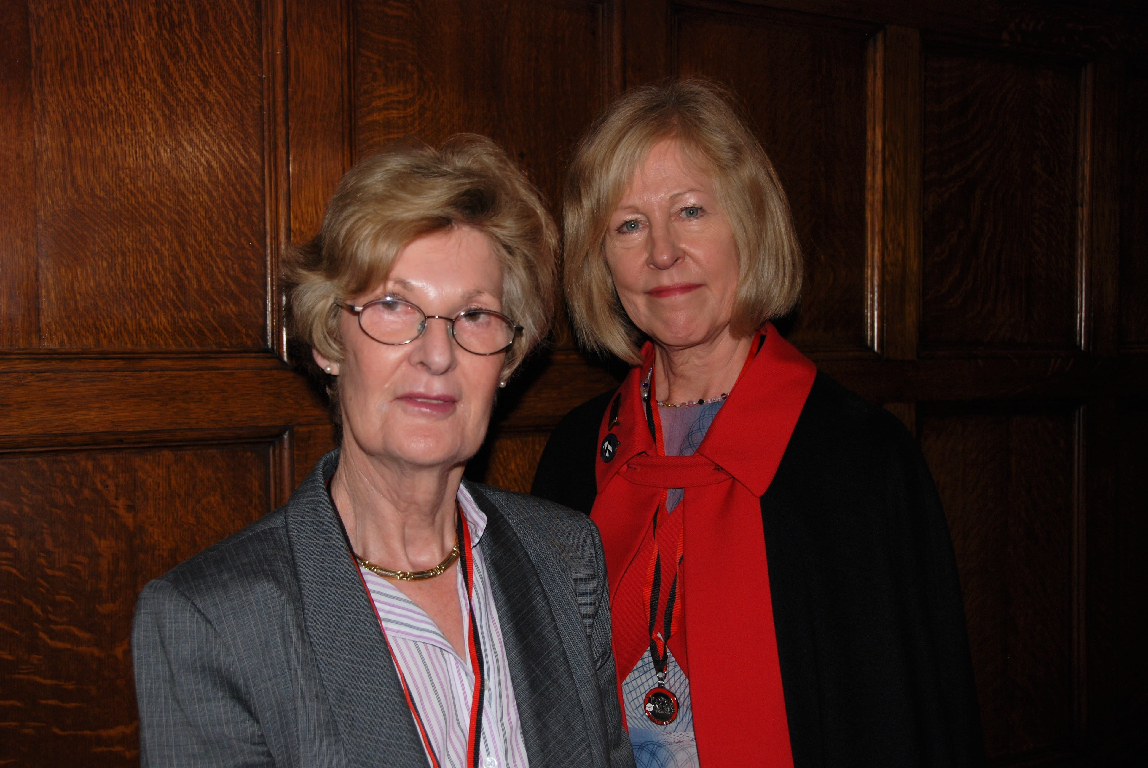 Liz Bardolph and Julia Mingay
